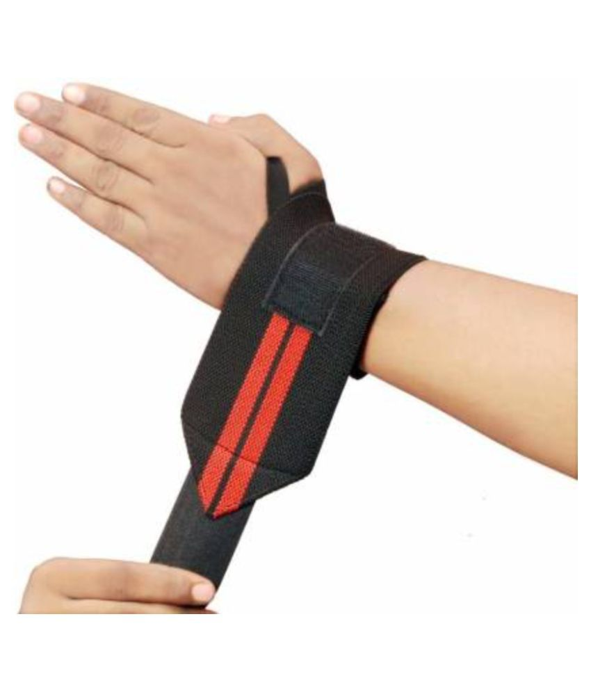 JK Wrist Support Band for Gym Workout and , Weightlifting for Men, Women Wrist Support  multicolor