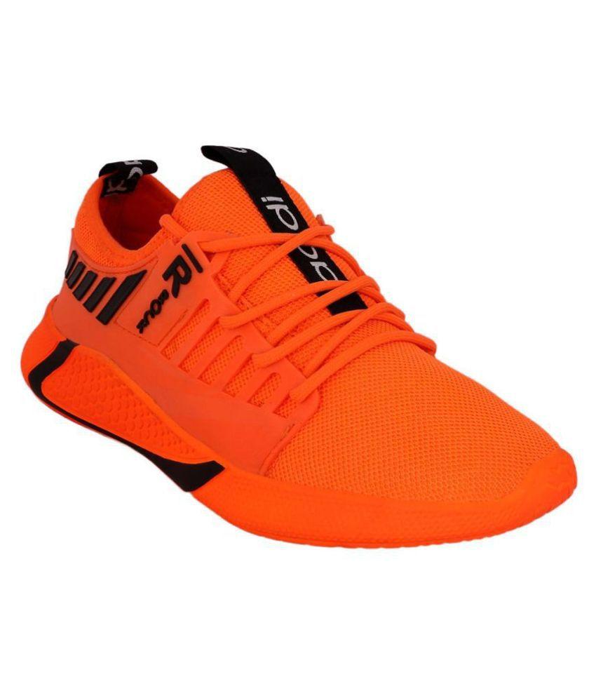Aadi Men's Sports Running Shoes Orange