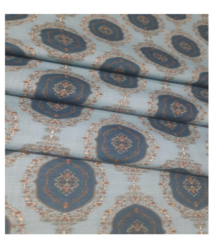 Raymond Multi Cotton Blend Unstitched Shirt pc