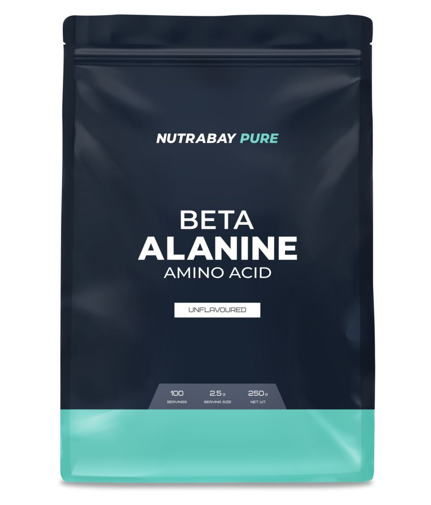 Nutrabay Pure Series Beta-Alanine - Unflavoured, 250 gm