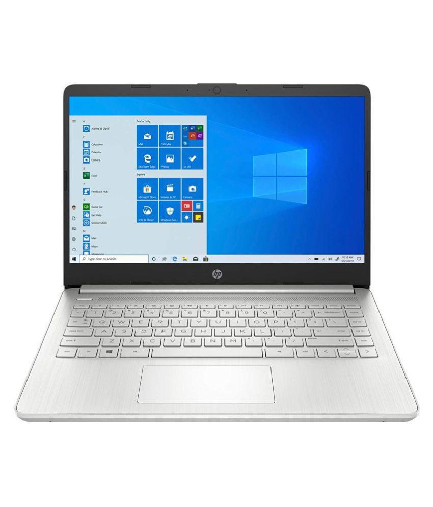 HP 14 4th Gen Ryzen 5 5500U 14-inch(35.6 cm) FHD Laptop with Alexa Built-in(8GB/512GB SSD/Windows 10/MS Office/Natural Silver/1.46Kg), 14s-fq1030AU