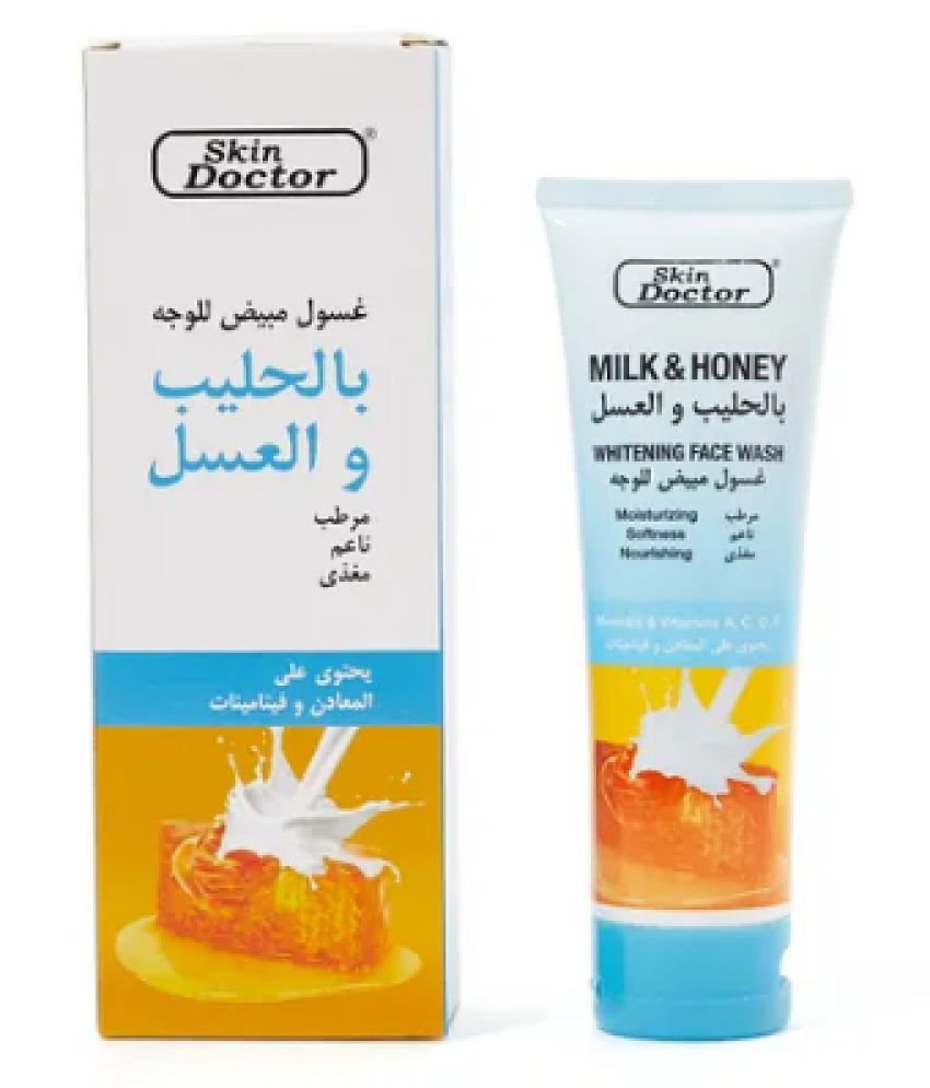 SkinDoctor Milk And Honey Face Wash 125 mL