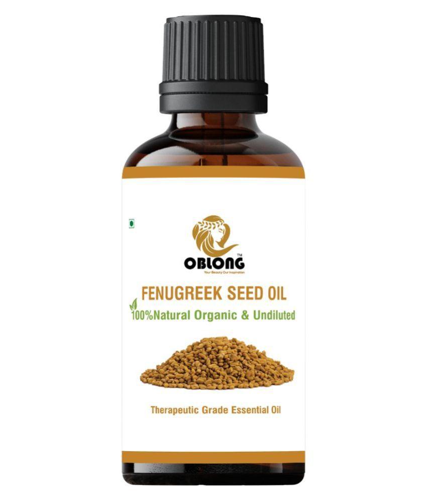 Oblong FENUGREEK OIL Essential Oil 10 mL
