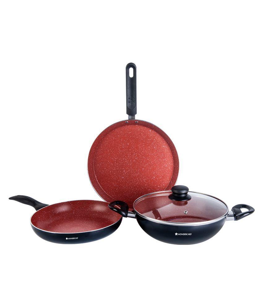 Wonderchef 4 Piece Cookware Set