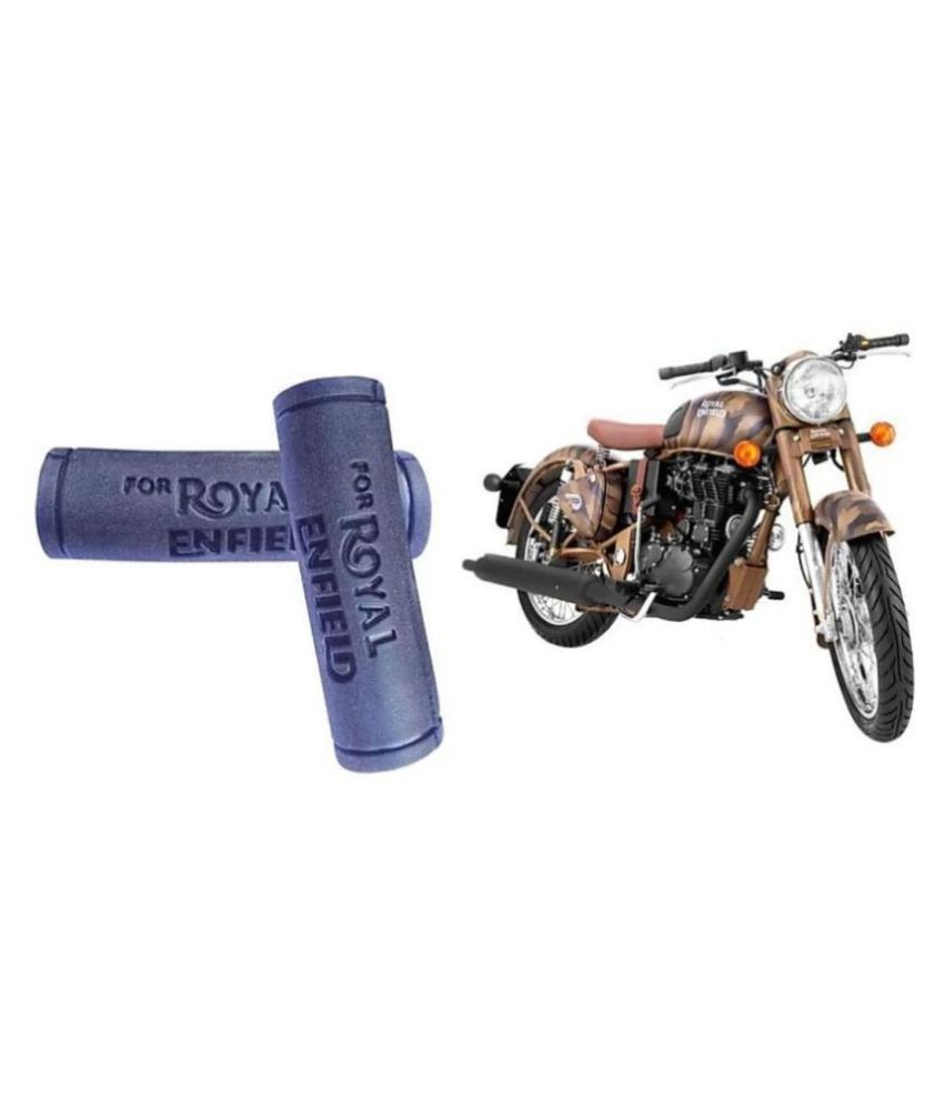 PURE BIKING Handle Grip Rubber For Royal Enfield Classic Bullet Standard Electra 350/500CC