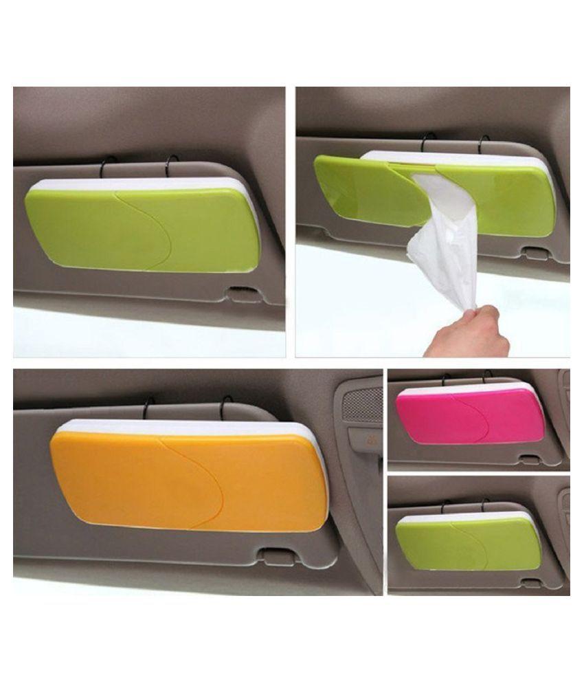 Saleh Car Tissue Dispenser Plastic Assorted