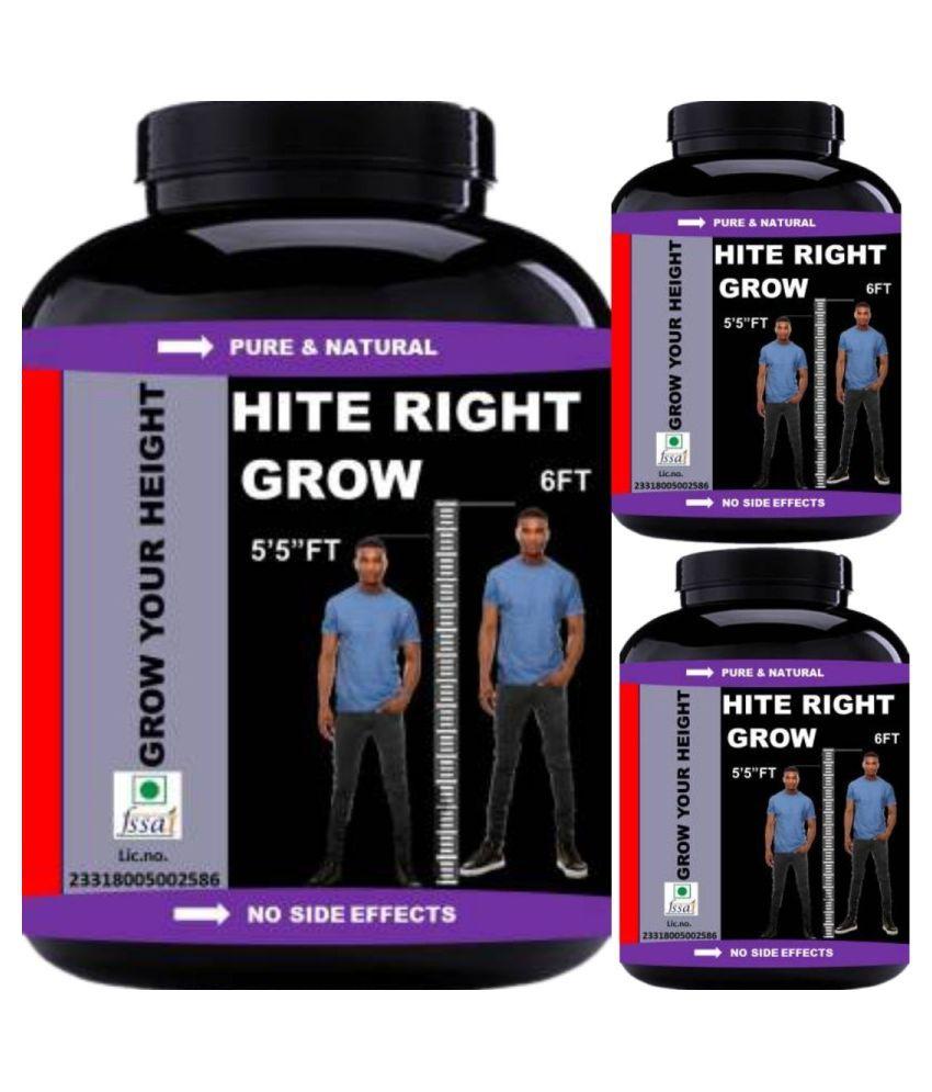 VITARA HEALTHCARE hite right grow 90 no.s Capsule Pack of 3