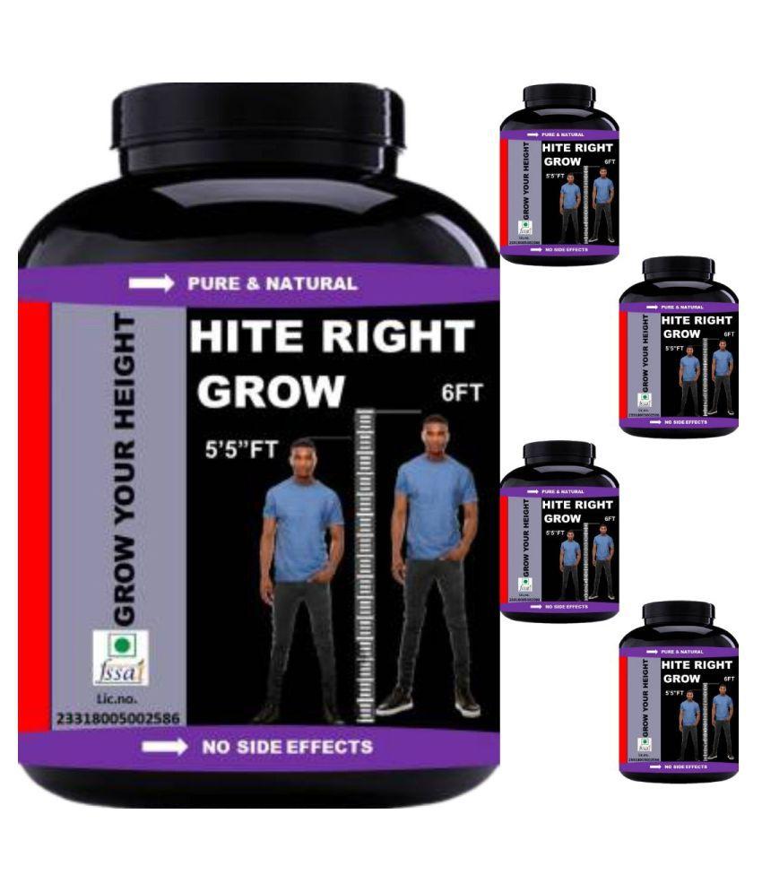 VITARA HEALTHCARE hite right grow 0.5 kg Powder Pack of 5