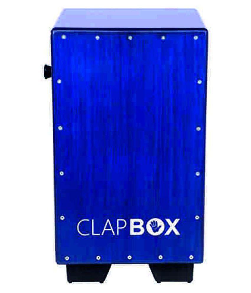 clapbox Snare CB40- Blue Deep Blue Cajon