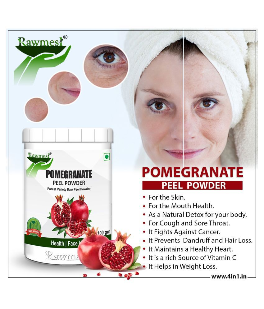 rawmest Pomegranate 100 gm Powder