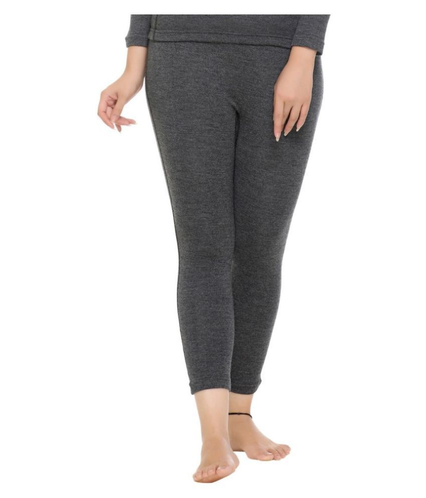 WARMZONE Wool Bottomwear - Grey