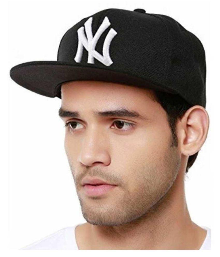 NY Hip Hop Black Cap for Men