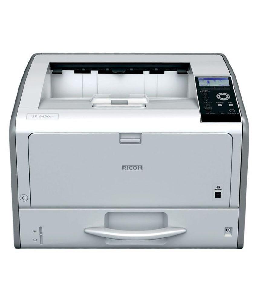 Ricoh SP 6430DN Duplex A3 Single Function B/W Laserjet Printer