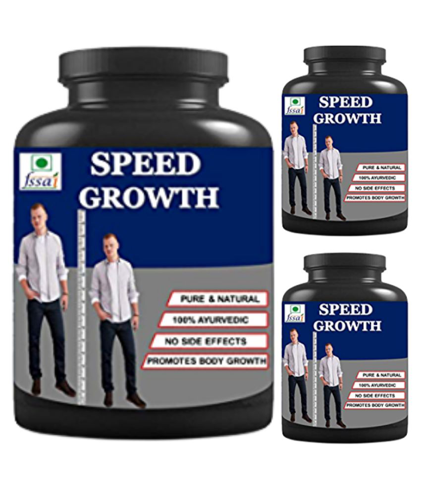 Zemaica Healthcare speed growth 0.3 kg Powder Pack of 3
