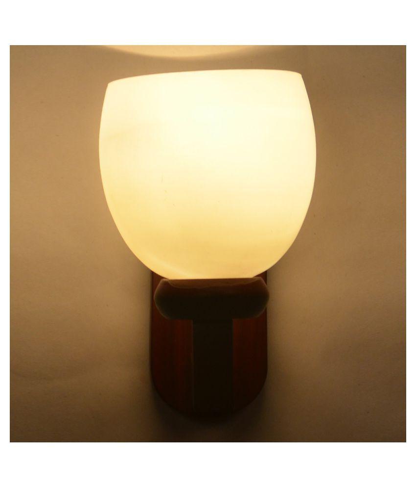 AFAST Decorative Wall Lamp Light Glass Wall Light Multi - Pack of 1