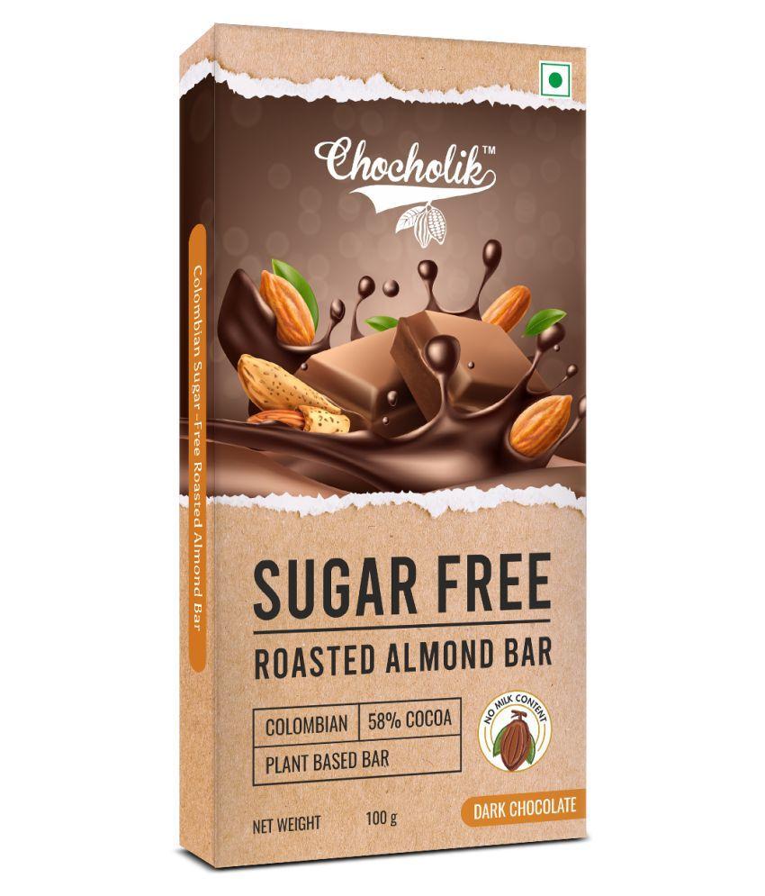 Chocholik Chocolate Roasted Almond Bar Assorted Box 100 gm