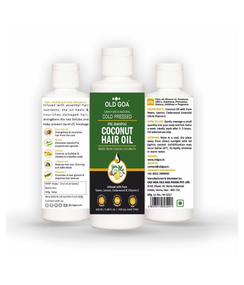 OLD GOA Coconut Hair Oil 200 mL