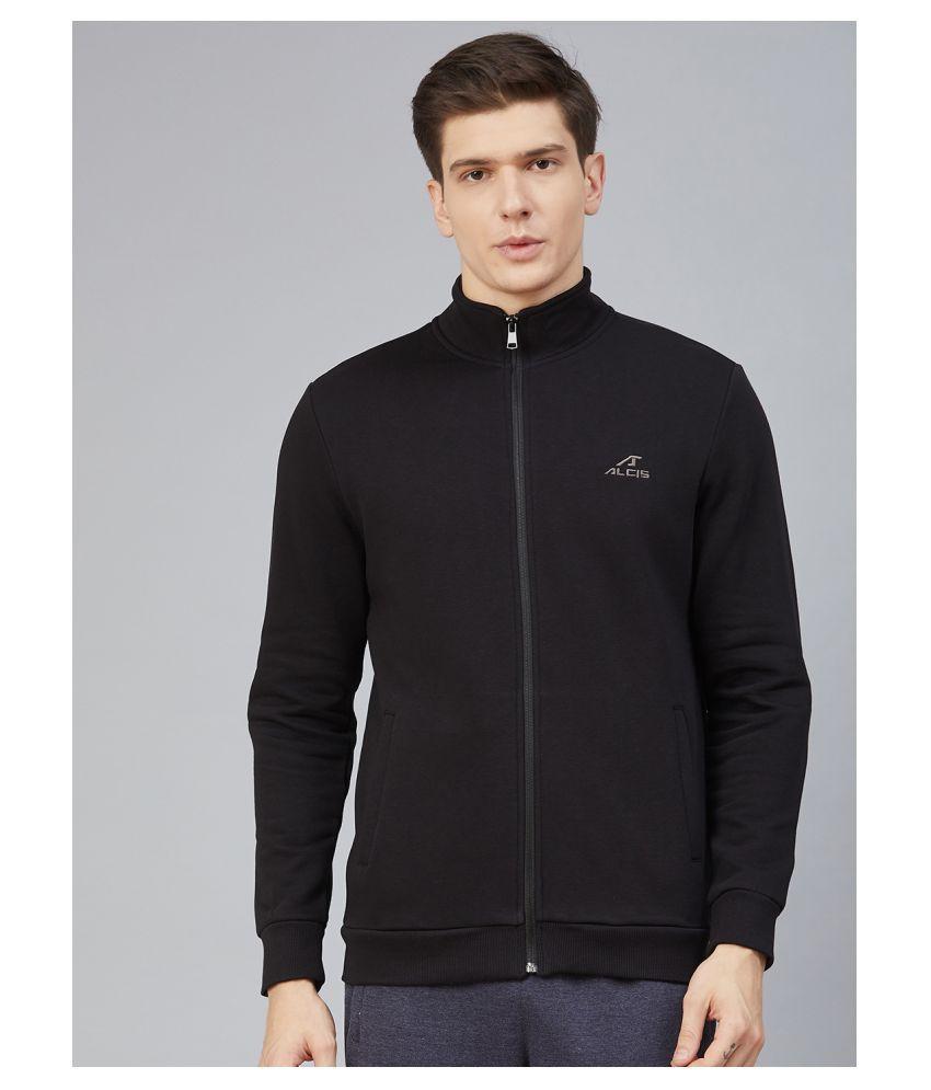 Alcis Black Cotton Jacket
