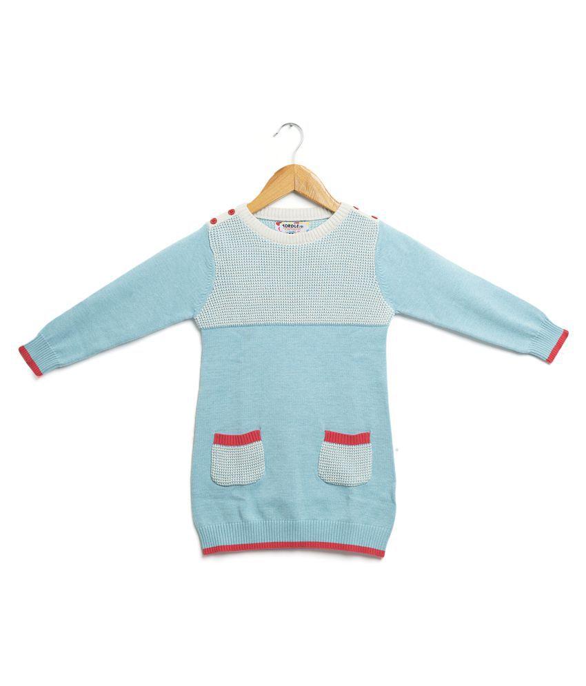 Yordle Winterwear Casual Girls Sweater