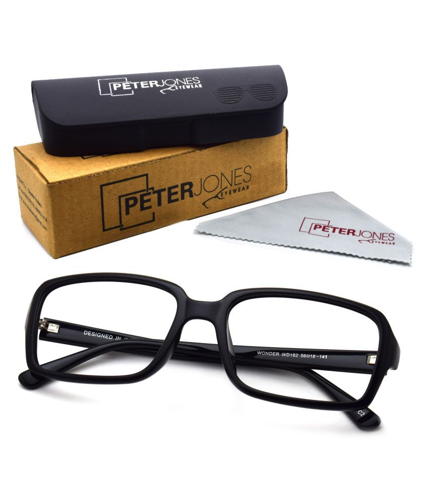 Unisex Blue Cut & Anti-glare Computer Glasses   For Computer Mobile TV   Eye Protection   Zero Power   Brand - Peter Jones