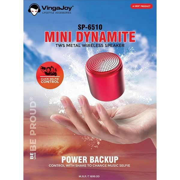 Pingaksh VINGAJOY SP-6510 MINI DYNAMITE  Bluetooth Speaker