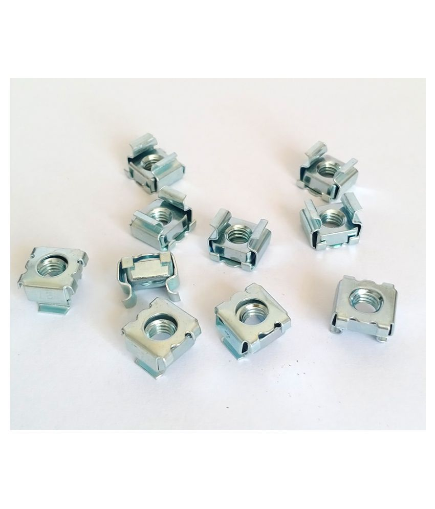 Cabinet M6 Cage Nuts (10 Pcs)