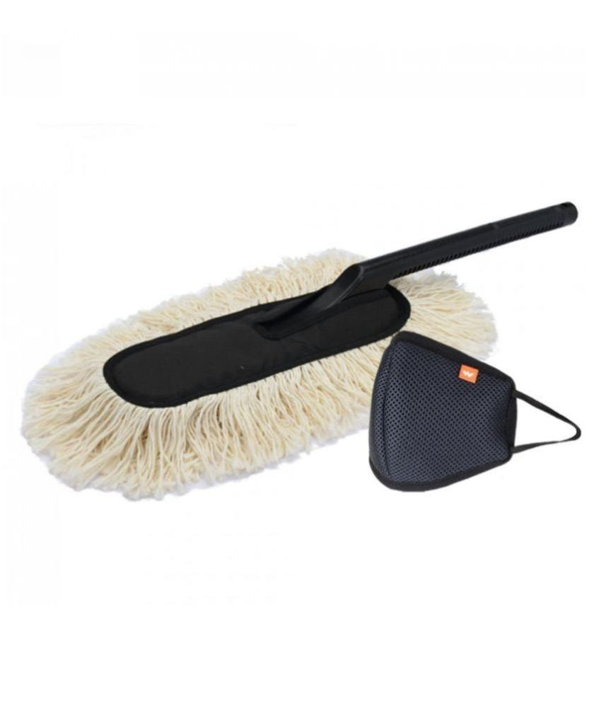 Jopasu Car Duster and Wildcraft Face Shield (Large) Combo