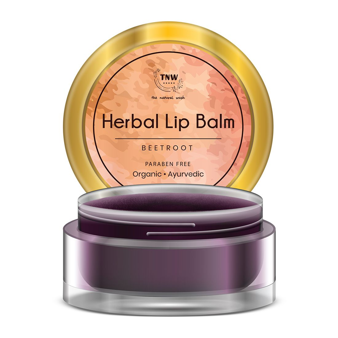 TNW - The Natural Wash BEETROOT Lip Balm Wine 5gm