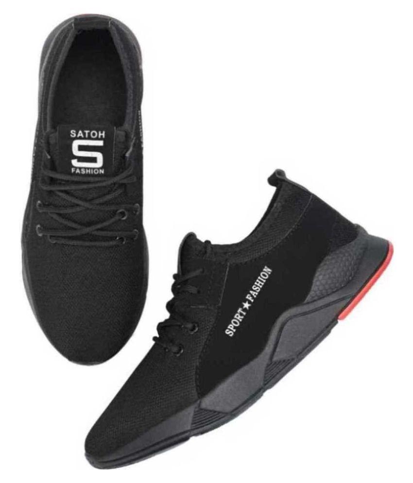 Retox 540 Black Black Running Shoes