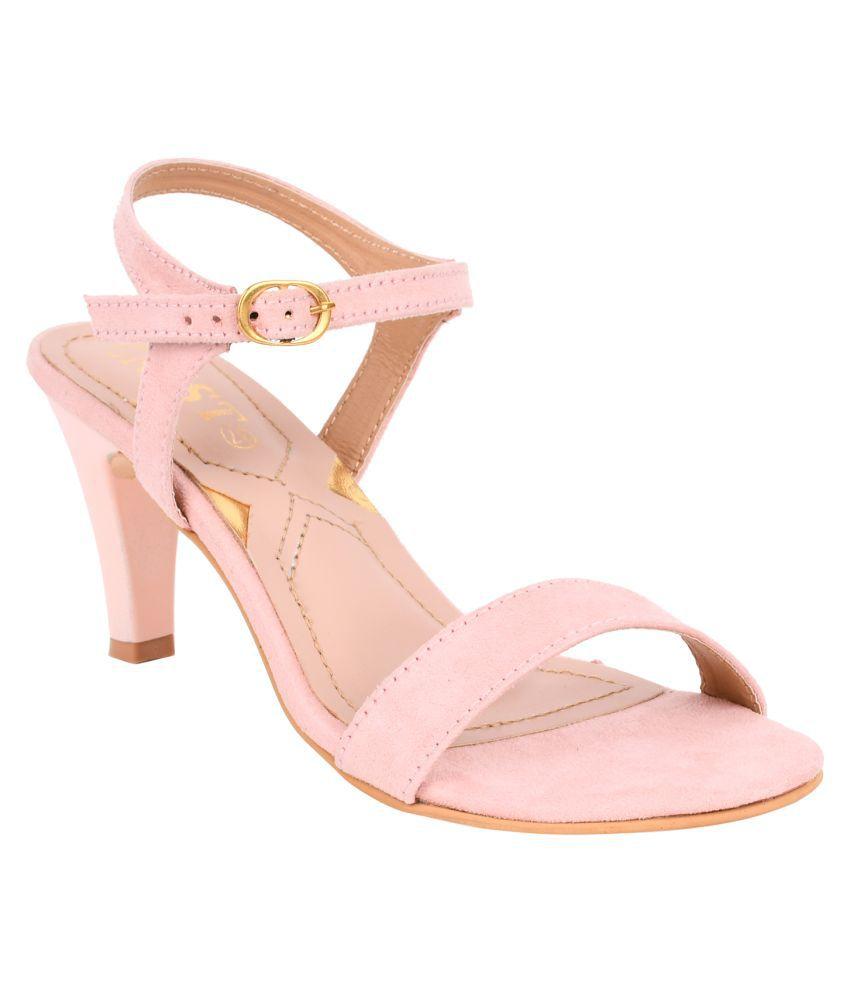 Gnist Pink Stiletto Heels