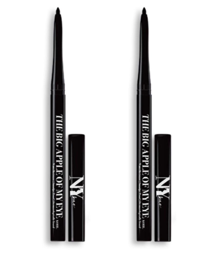 NY Bae Kohl Twin Pack - Black, The Big Apple Of My Eye (0.25 g) - (Pack of 2)