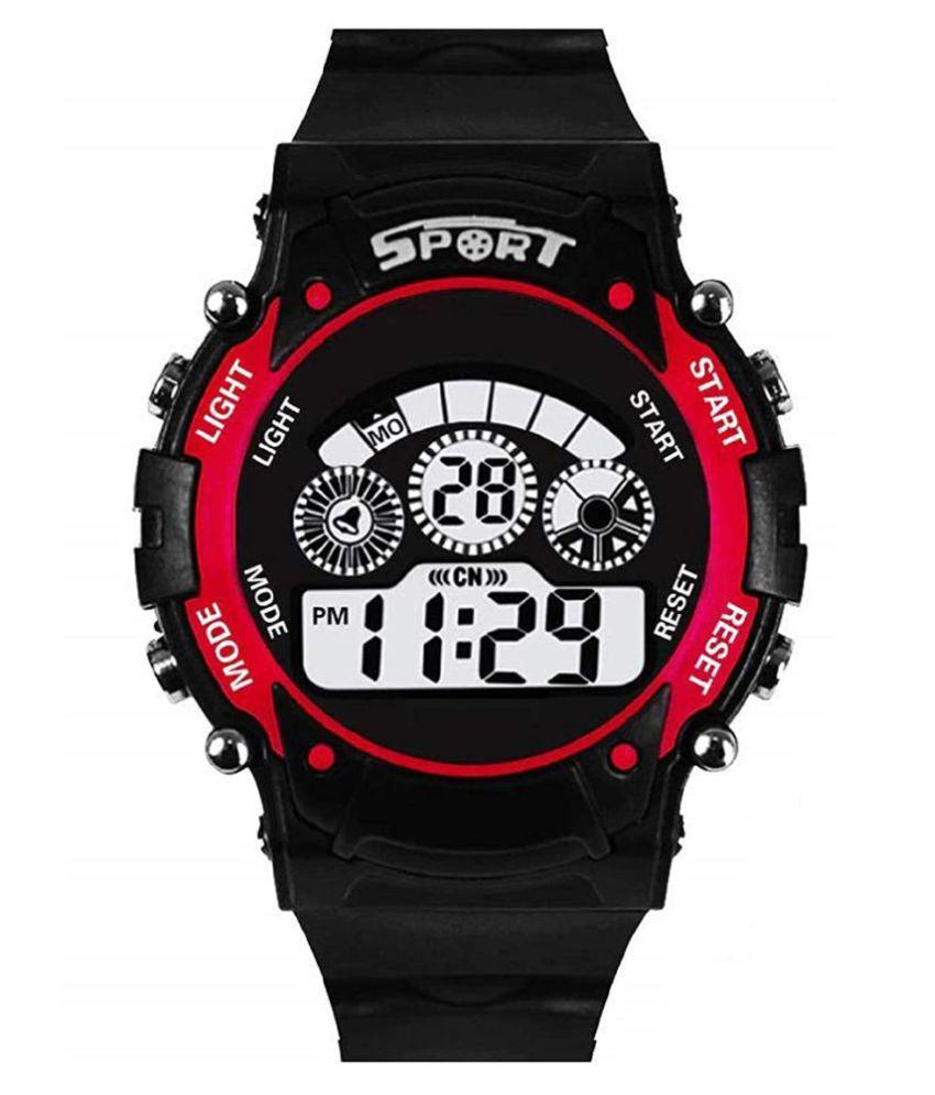 Redux DG032 Digital Red Ring Boy's & Girl's Watch For Kids
