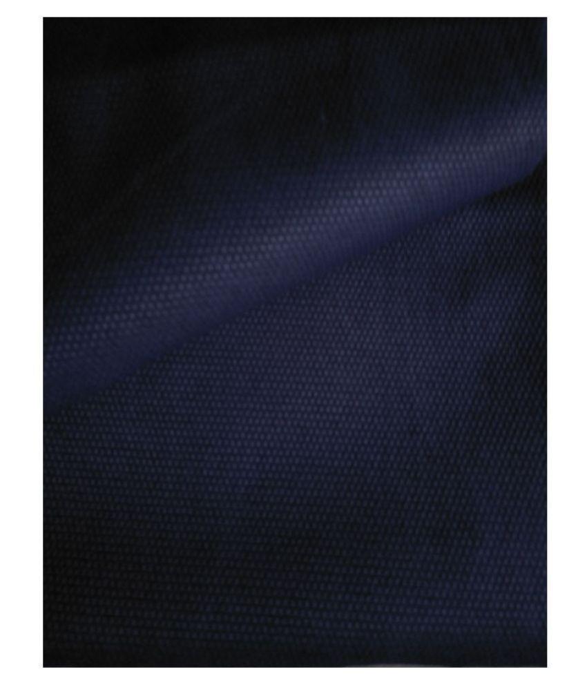Makhanchor Black 100 Percent Cotton Unstitched Shirt pc Singal