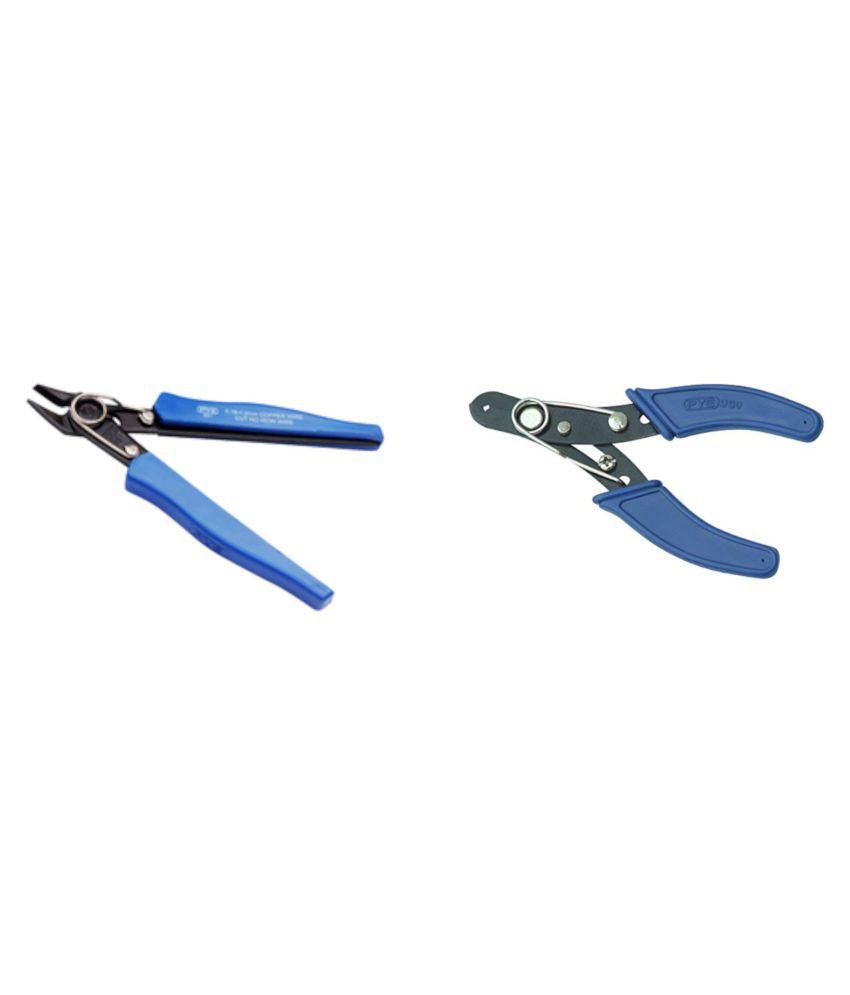 PYE Set of 2 Hand Tool Combo Wire Stripper & Cutter (950)/Nipper (951)