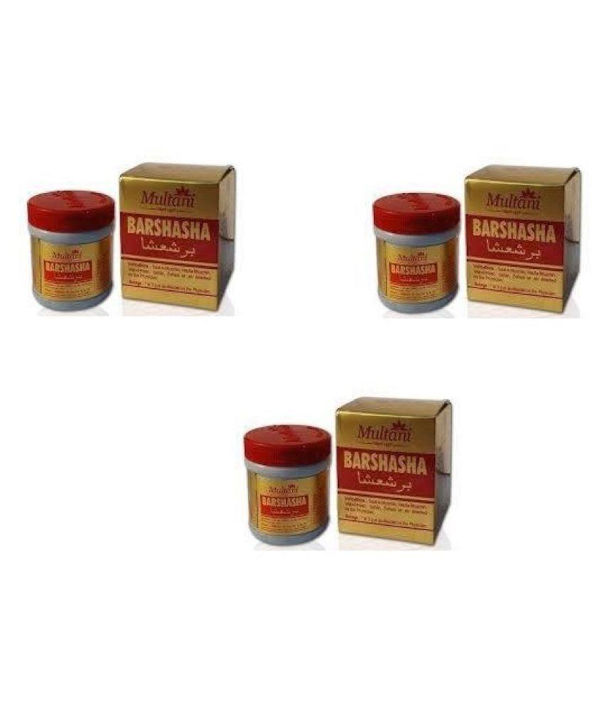 Multani BARSHASHA PACK OF 3 Liquid 60 gm