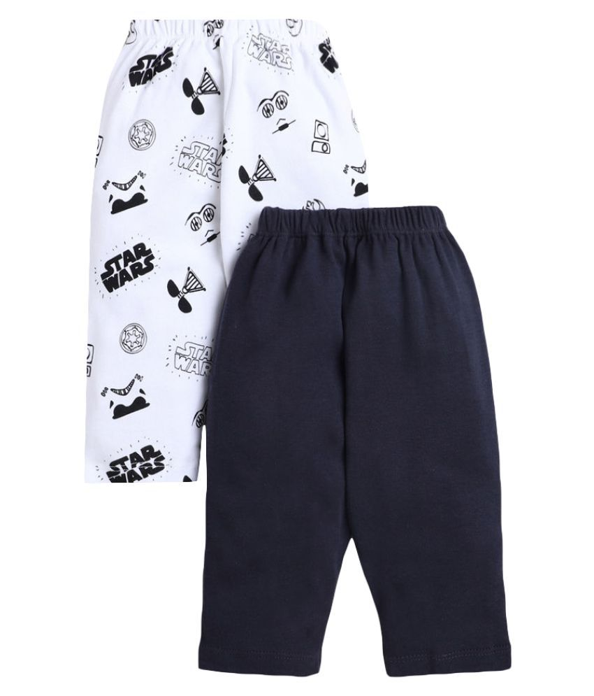 Hopscotch Baby Boy Cotton Print Trackpant Pack of 2 in  Color For Ages 12-18 Months (BNC-3693446)