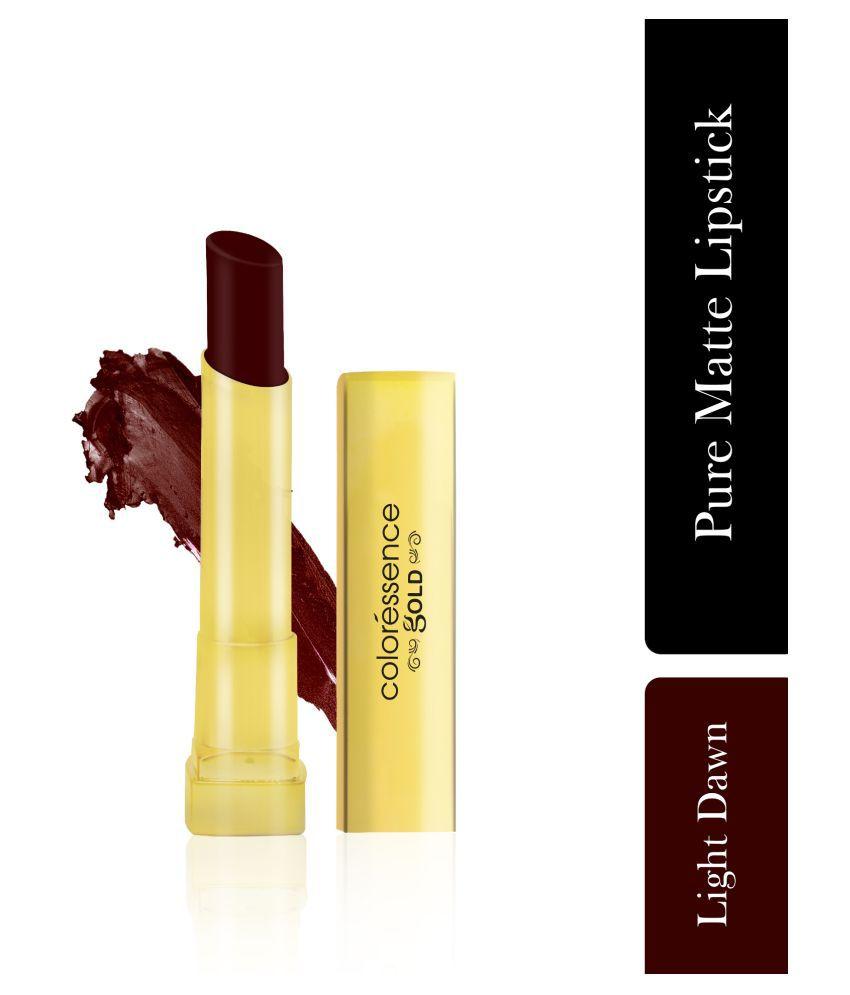 Coloressence Chocolate Pure Matte Lipstick LIGHT DOWN VML 11