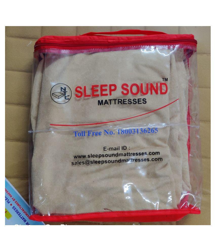 Sleep Sound Mattresses White Poly Cotton Mattress Protector