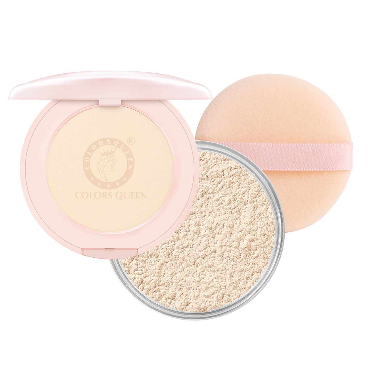 Colors Queen Fair Shade  Loose Powder with SPF 15   30 gm
