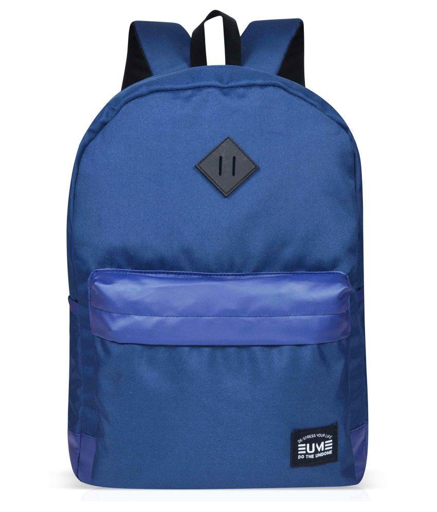 EUME Camper 20 Ltrs Navy Blue Backpack