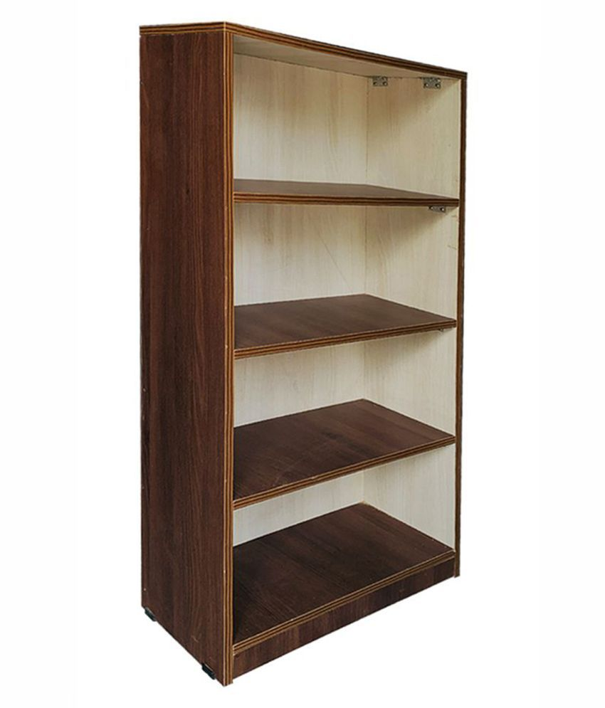 BOOK SHELVES IN WOODEN FINISH