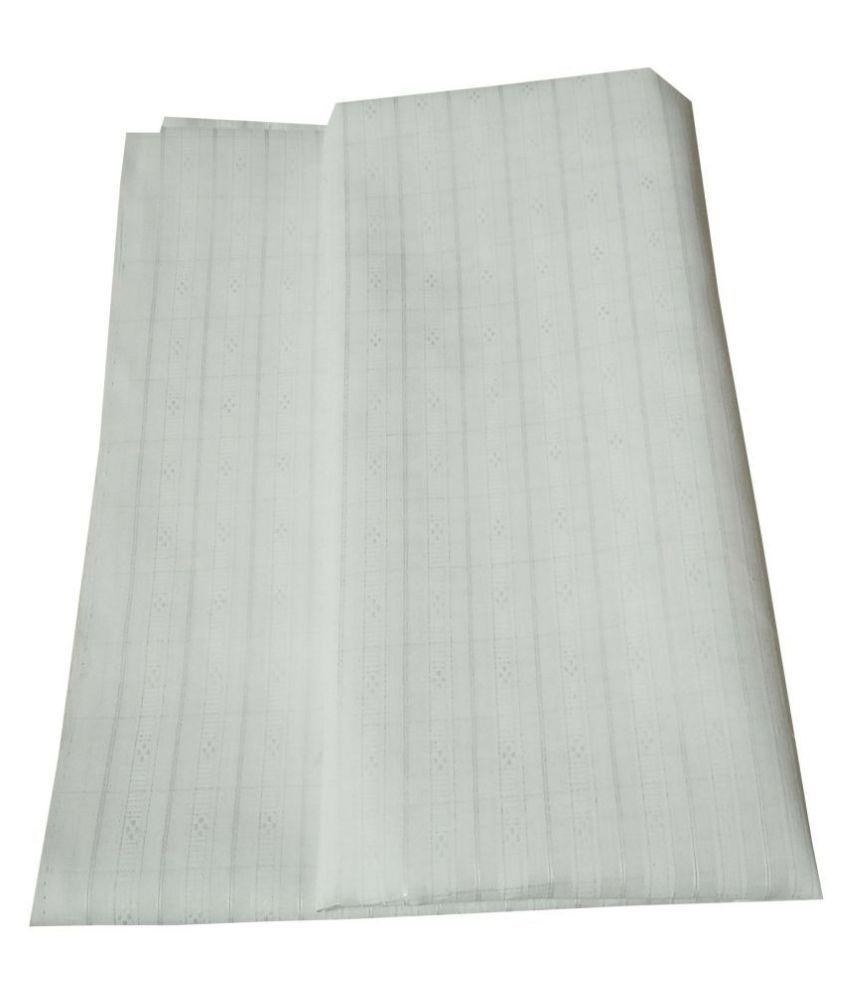 John Phillipe White 100 Percent Cotton Unstiched Kurta