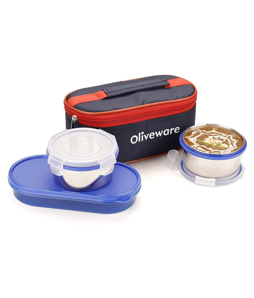 Sopl-Oliveware Blue Lunch Box
