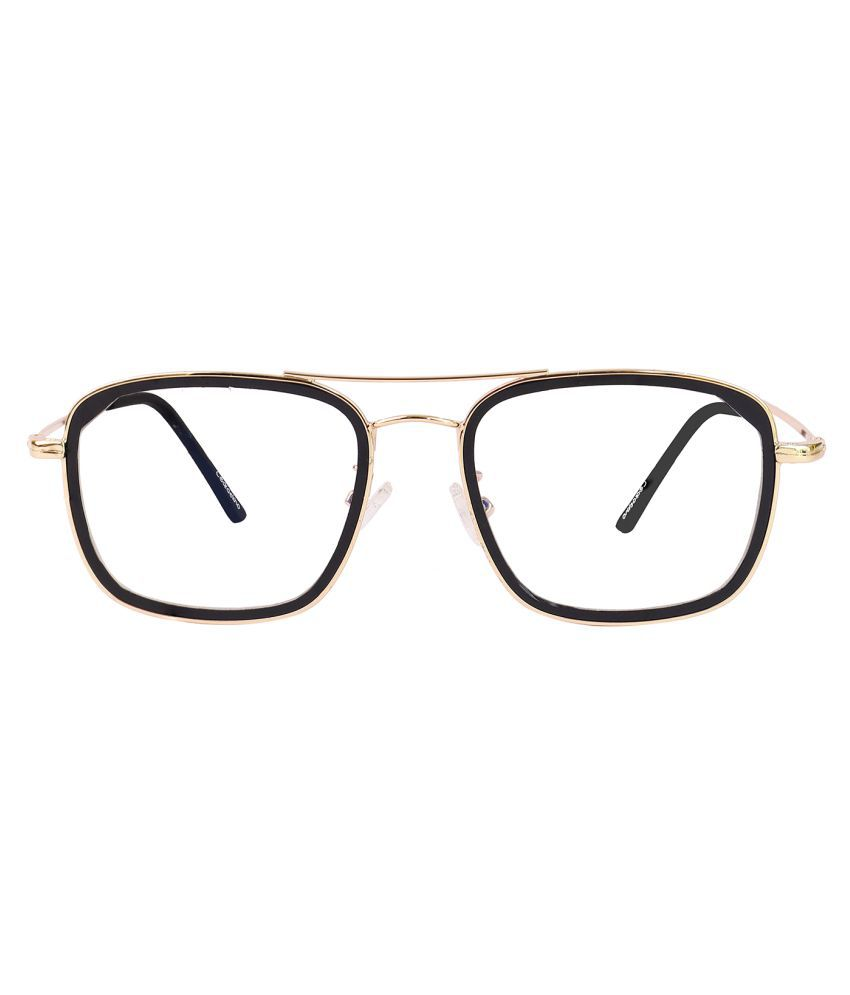 Unisex Blue Cut & Anti-glare Computer Glasses | For Computer Mobile TV | Eye Protection | Zero Power | Brand - ClearDekho