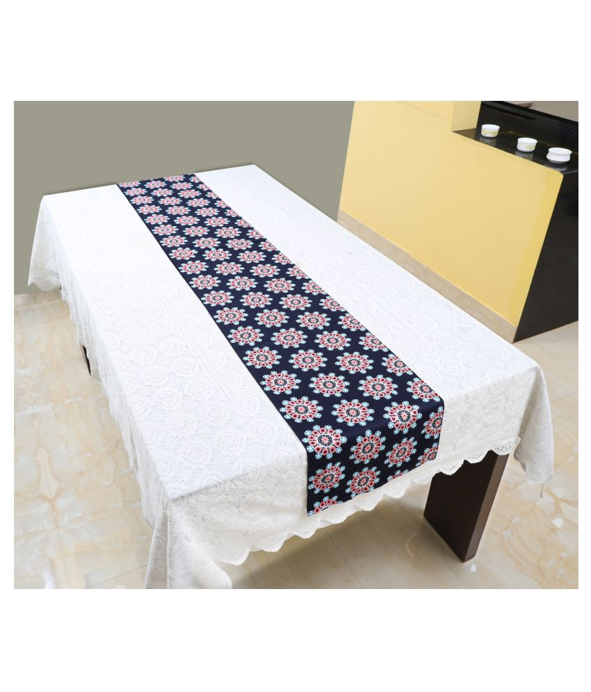 Switchon 6 Seater Cotton Single Table Runner